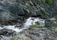 «Волчий» водопад
